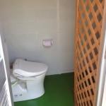 トイレ更衣室内装