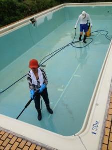 プール掃除№2